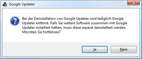 Google Updater, googleupdate.exe
