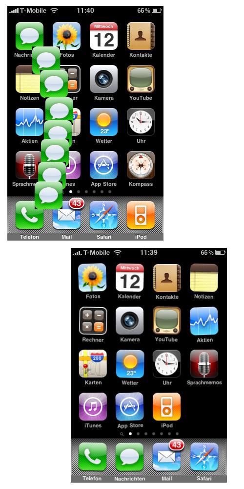 iphone-startsymbole anpassen