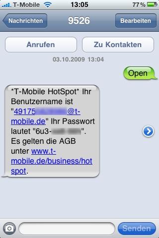 apple-iphone-sms-zugangsdaten-kennwort-benutzername-hotspot-t-mobile