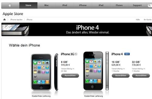 iphone ohne vertrag direkt bei apple bestellen ohne sim. Black Bedroom Furniture Sets. Home Design Ideas