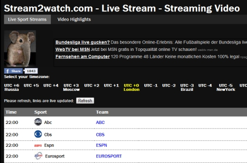 fußball live stream watch live tv