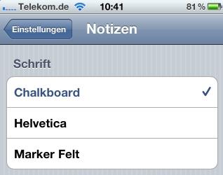 Iphone App Einstellungen Andern