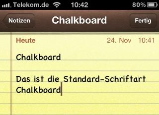 Iphone  Schriftart Andern