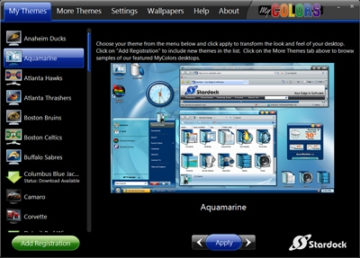 télécharger stardock mycolors pour windows 7 starter