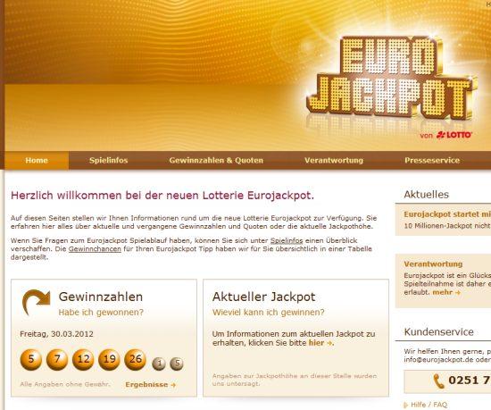 Eurojackpot Gewinnzahlen 2021