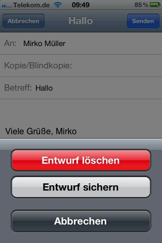 iphone geht einfach an und blitz auf