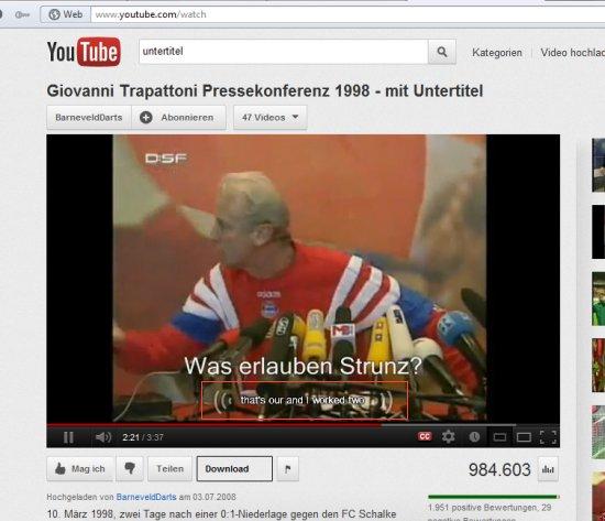 Youtube übersetzung Ausschalten