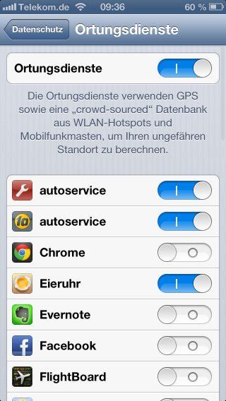 apple-iphone-ios-6-datenschutz-einstellen-ortungsdienste-kontakte-kalender-erinnerungen-twitter-facebook-zugriffe-2