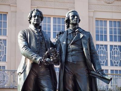 Goethe Schiller Denkmal