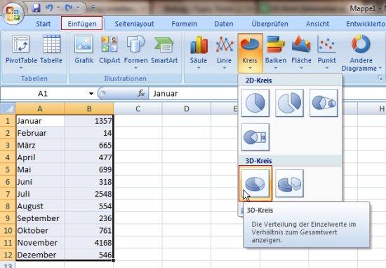 bild-1-excel-office-2007-version-prozent-prozentual-verteilung-aufteilung-umrechnen-erstellen