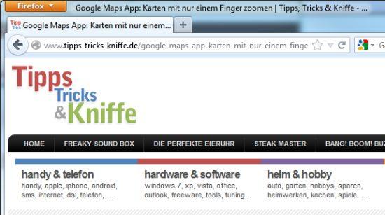 internet-explorer-firefox-aero-windows-title-titelleiste-titelzeile-oben-fensterrand-quero-toolbar
